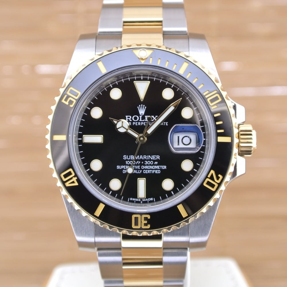 rolex submariner unworn with box and papers 2016 rolex from watch buyers ltd uk. Black Bedroom Furniture Sets. Home Design Ideas