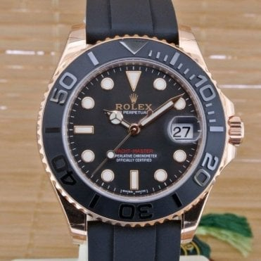 Yacht Master 37 Everose Gold - Unworn with Box and Papers August 2016