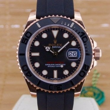 Yacht Master 40 Everose Gold - Unworn with Box and Papers April 2017