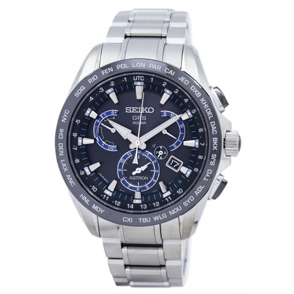 7f97e059652 Seiko Astron GPS Solar Watch SSE101J1 - Unworn with Box and Papers ...