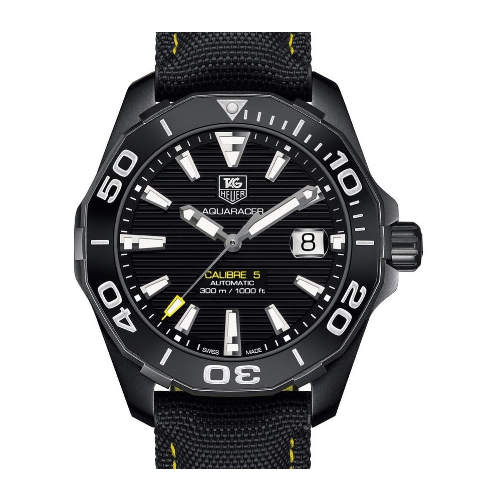 Aquaracer 300M Calibre 5 Automatic Watch Ceramic Bezel 41mm - Unworn with  Box and Papers 7f6eea131ca4