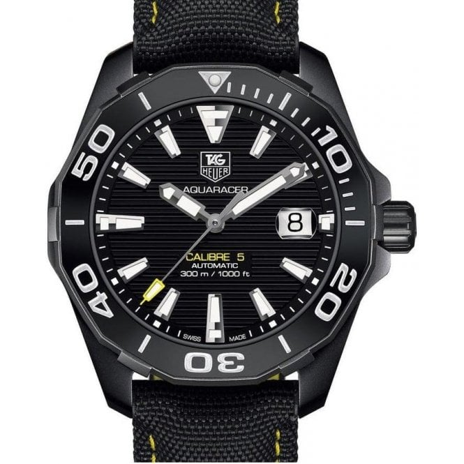 TAG Heuer Aquaracer 300M Calibre 5 Automatic Watch Ceramic Bezel 41mm - Unworn with Box and Papers