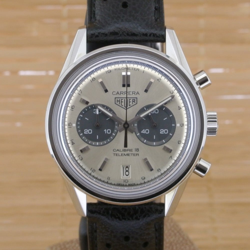 Discrepancia Interconectar idea  TAG Heuer CARRERA Calibre 18 Chronograph - With Papers from February 2017 -  Watches For Sale from Watch Buyers Ltd UK