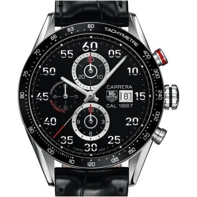 TAG Heuer Carrera Calibre 1887 Automatic Chronograph 43mm - Unworn with Box and Papers