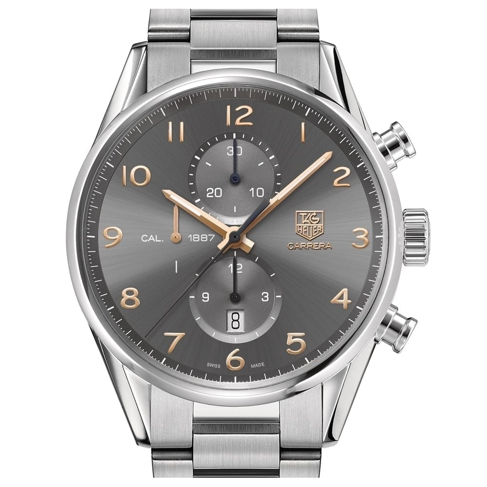 Isla Stewart Es una suerte que vendedor  TAG Heuer Carrera Calibre 1887 Automatic Chronograph 43mm - Unworn with Box  and Papers - Watches For Sale from Watch Buyers Ltd UK