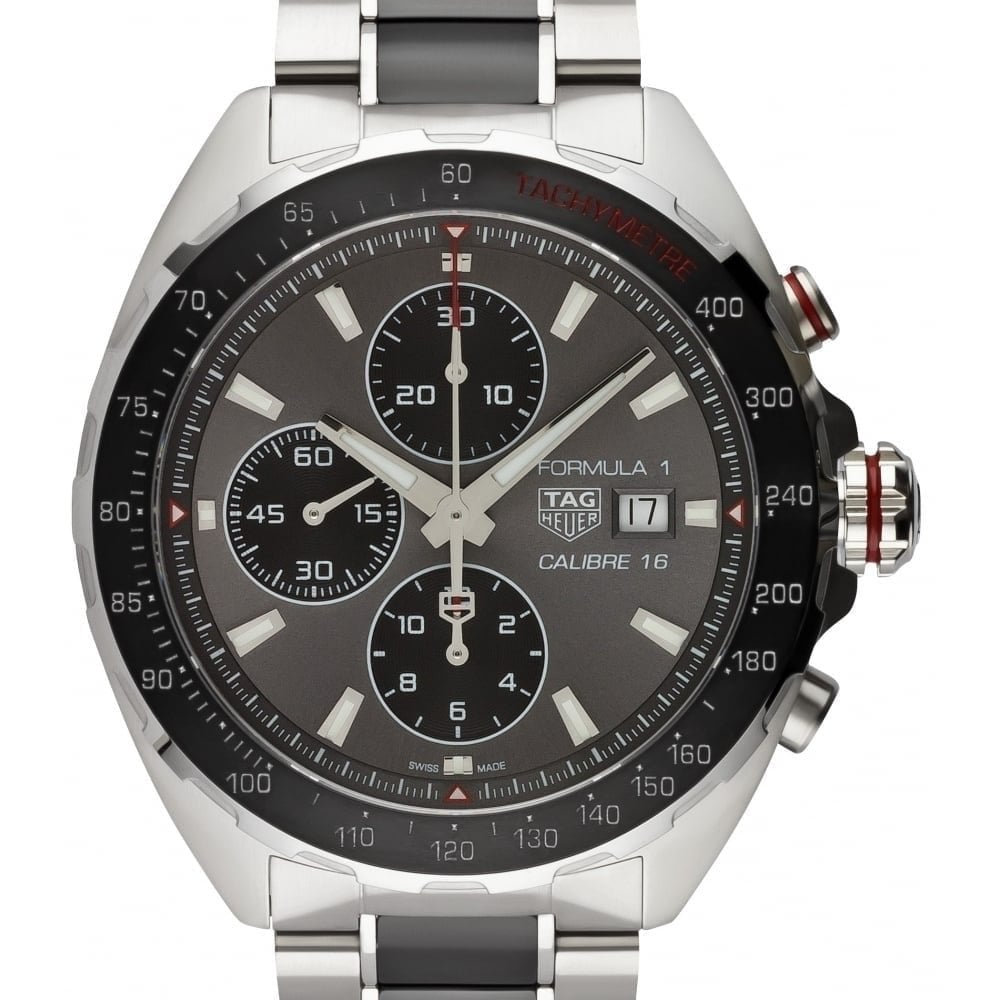 14c9af1bceff Formula 1 Calibre 16 Automatic Chronograph 44mm - Unworn with Box and papers