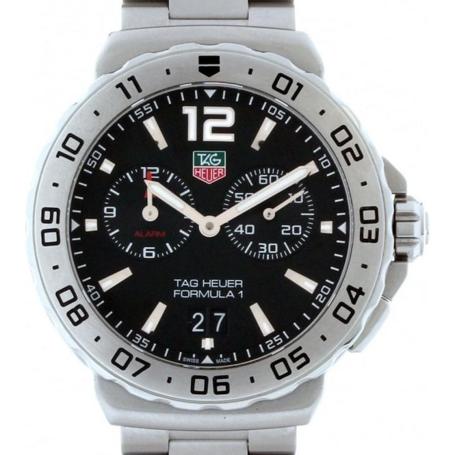 TAG Heuer Formula 1 Grande Date Alarm 42mm Quartz - Unworn with Box and Papers