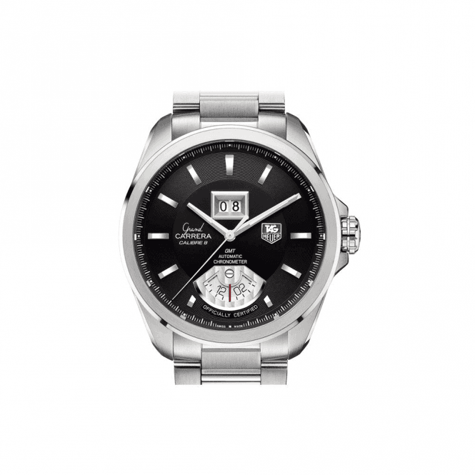 TAG Heuer GRAND CARRERA RS Grande Date and GMT Automatic 42.5mm - Unworn with Box and Papers