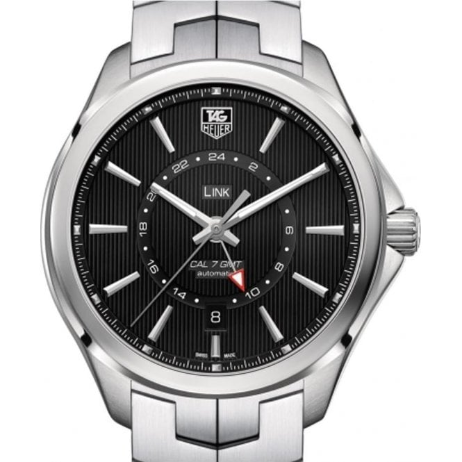 TAG Heuer LINK Calibre 7 GMT Automatic Watch 42mm - Unworn with Box and Papers
