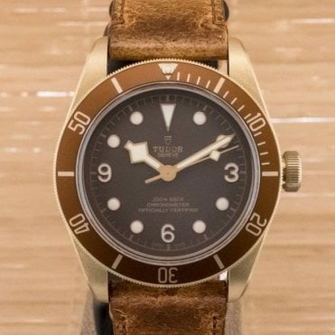Heritage Black Bay Bronze 79250BM - Unworn with Box and Papers March 2018